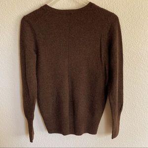 Halogen Sweaters - Halogen 100% Cashmere V neck sweater, size Medium